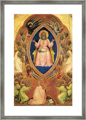Alberegno Jacobello, Polyptych Framed Print by Everett