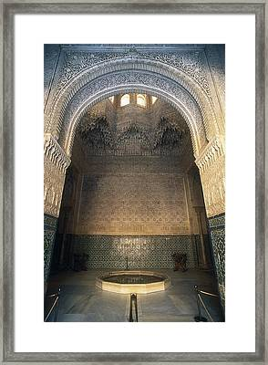 Alhambra. Spain. Andalusia. Granada Framed Print by Everett