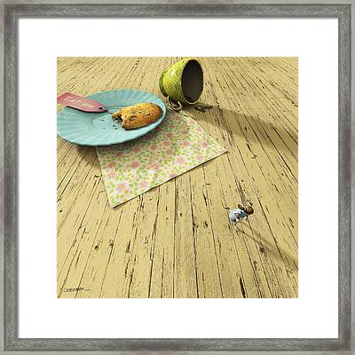 Alice Framed Print by Cynthia Decker