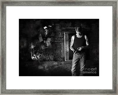 Alienated Youth Series 2013 Framed Print by Ute Bescht