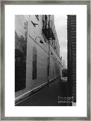Alley Framed Print by Michelle OConnor