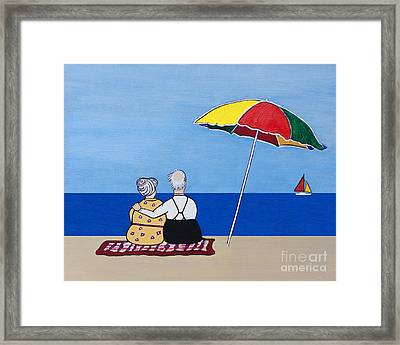 Always Together Framed Print by Barbara McMahon