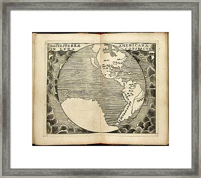 America Framed Print by British Library