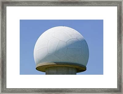 An Early Warning Radar Station Framed Print by Ashley Cooper