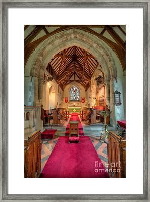 Ancient Parish Church Framed Print by Adrian Evans