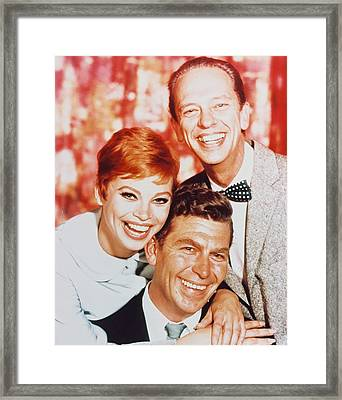 Andy Griffith In The Andy Griffith Show Framed Print by Silver Screen