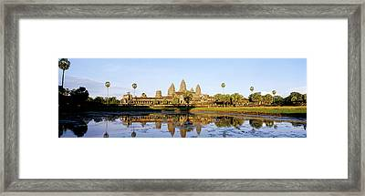 Angkor Wat, Cambodia Framed Print by Panoramic Images