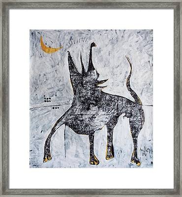 Animalia Canis No. 7  Framed Print by Mark M  Mellon