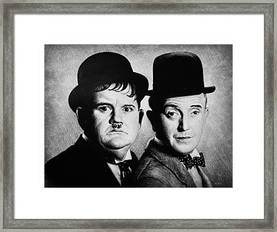 Another Fine Mess Framed Print by Andrew Read
