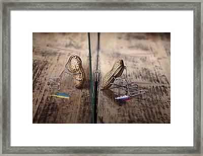Apart Framed Print by Nailia Schwarz