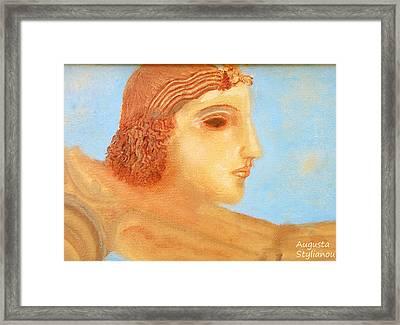 Apollo Hylates Framed Print by Augusta Stylianou
