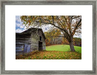 Appalachian Autumn Framed Print by Debra and Dave Vanderlaan