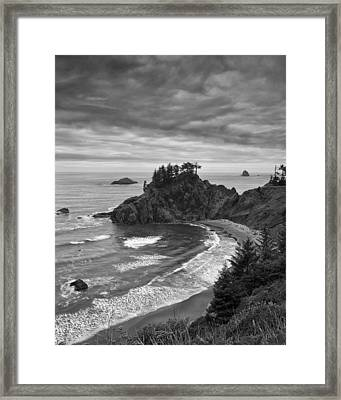 Approaching Storm Framed Print by Andrew Soundarajan
