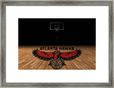 Atlanta Hawks Framed Print by Joe Hamilton