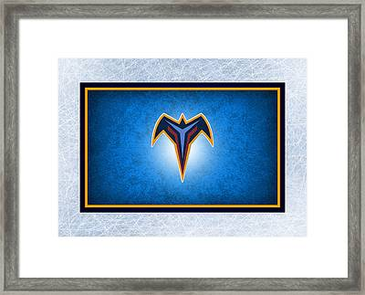 Atlanta Thrashers Framed Print by Joe Hamilton