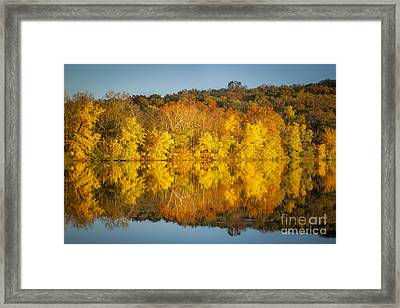 Autumn Color Framed Print by Brian Jannsen