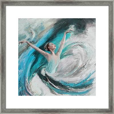 Ballerina  Framed Print by Corporate Art Task Force