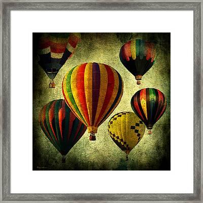 Balloons Framed Print by Mark Ashkenazi