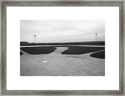 Baseball Framed Print by Frank Romeo