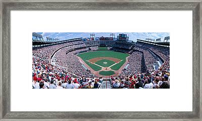 Baseball Stadium, Texas Rangers V Framed Print by Panoramic Images