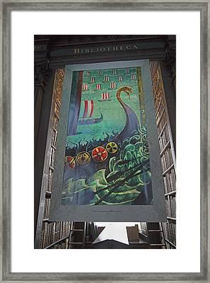 Battle Of Clontarf Framed Print by Betsy Knapp