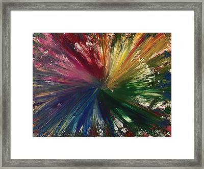 Be Still And Know Framed Print by Christine Nichols