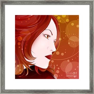 Bella Donna II Framed Print by Sandra Hoefer