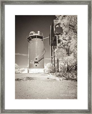 Beresford Siding Outback Australia Framed Print by Colin and Linda McKie