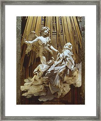 Bernini, Giovanni Lorenzo 1598-1680 Framed Print by Everett