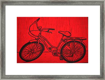 Bike 5 Framed Print by William Cauthern
