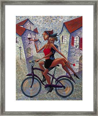 Bike Life Framed Print by Ned Shuchter