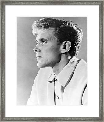 Billy Fury Framed Print by Silver Screen