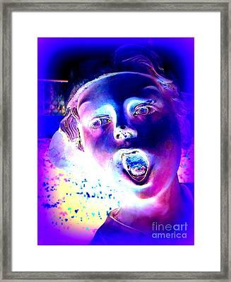 Blue Boy Framed Print by Ed Weidman