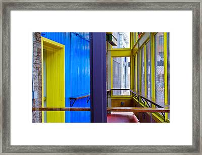Blueberry Hill Framed Print by KM Corcoran