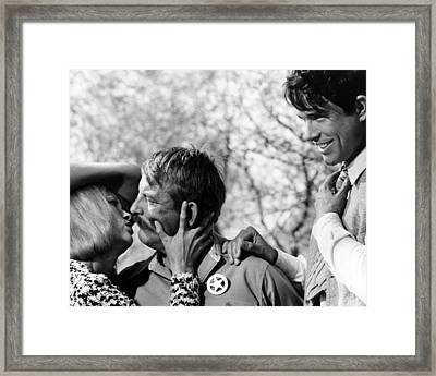 Bonnie And Clyde  Framed Print by Silver Screen
