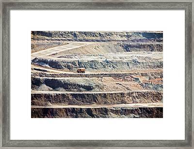 Borax Mine Framed Print by Jim West