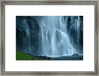 Bridal Veil Falls Framed Print by Nick  Boren