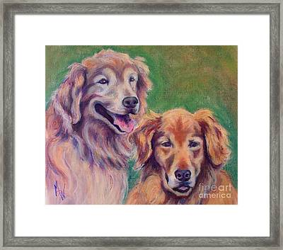 Brothers Framed Print by Mindy Sue Werth
