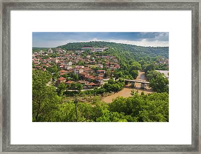 Bulgaria, Central Mountains, Veliko Framed Print by Walter Bibikow