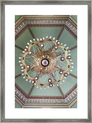 Bulgaria, Sofia, Sofia Synagogue, Built Framed Print by Walter Bibikow