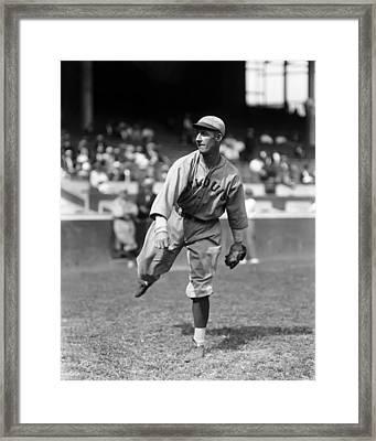 Burton E. Burt Shotton Framed Print by Retro Images Archive