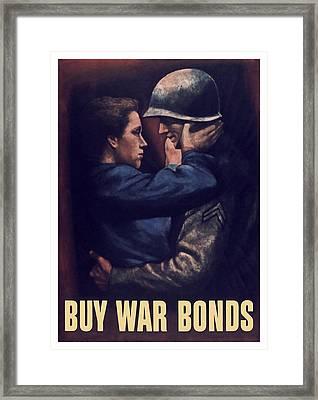 Buy War Bonds Framed Print by War Is Hell Store