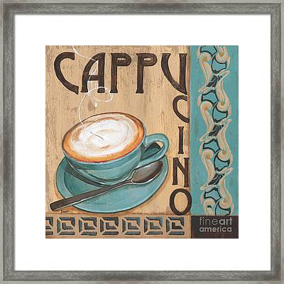Cafe Nouveau 1 Framed Print by Debbie DeWitt