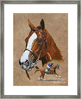 California Chrome Framed Print by Pat DeLong