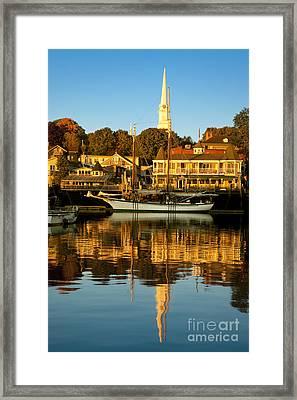Camden Maine Framed Print by Brian Jannsen