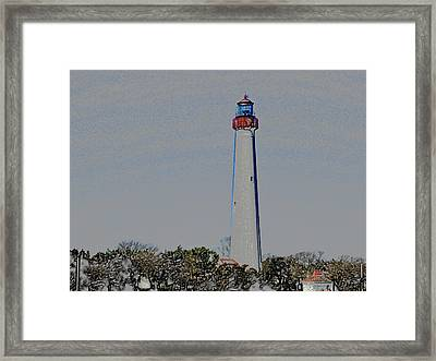Cape May Framed Print by Dennis Dugan