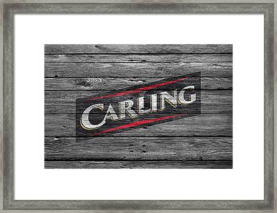 Carling Framed Print by Joe Hamilton