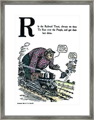 Cartoon Anti-trust, 1902 Framed Print by Granger