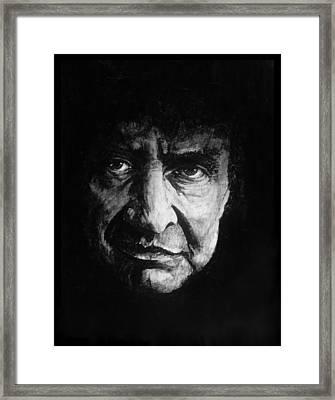 Cash In Black Framed Print by William Walts
