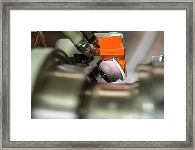 Cern Upgrade Framed Print by Cern